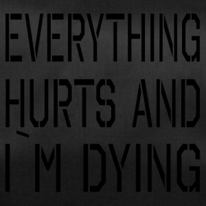 Everything Hurts - Sporttasche