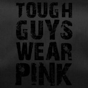 Hard guys wear pink funny sayings - Duffel Bag
