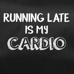 Late on, my cardio is funny - Duffel Bag