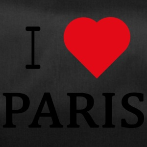I Love Paris - Borsa sportiva