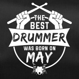 The best drummers were born in May - Duffel Bag