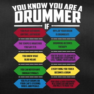 You know you're drummer though - Duffel Bag