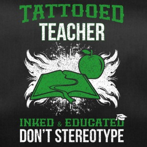 Tattooed teacher - Duffel Bag