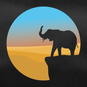 Sunset Elephant - Sportstaske