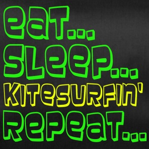 EAT SLEEP KITESURFING REPEAT - Sporttasche