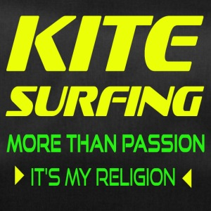 KITESURFING MORE THAN PASSION - ITS MY RELIGION - Duffel Bag