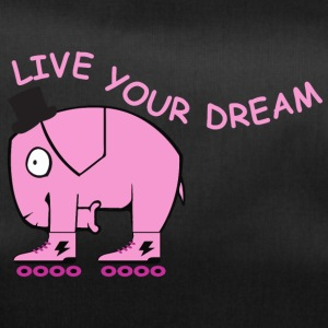 Live your dream elephant - Sporttasche