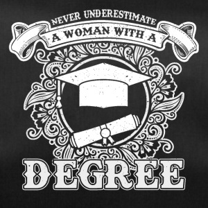 No educated woman - Duffel Bag
