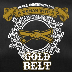 Do not underline a woman with a golden belt - Duffel Bag
