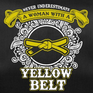 No woman with yellow belt - Duffel Bag