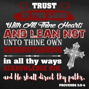 Trust God Psalm - Duffel Bag