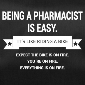 BEING A PHARMACIST - Sporttasche