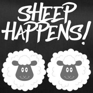 Mouton / ferme: Sheep Happens! - Sac de sport
