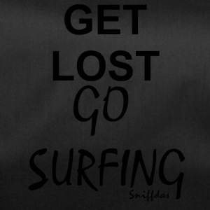 Get lost go surfing - Duffel Bag