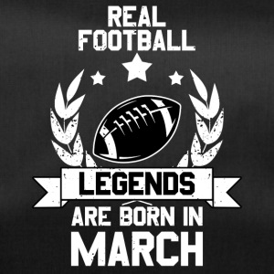 Football Legends! Verjaardag March maart - Sporttas