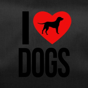I LOVE DOGS - Sporttas