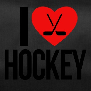 I love hockey - Borsa sportiva