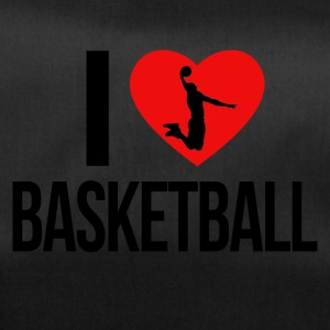 I LOVE BASKETBALL - Duffel Bag
