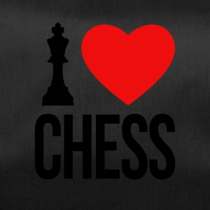 I LOVE CHESS - Sporttasche
