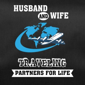 Husband And Wife, Partners for Life - Traveling - Duffel Bag