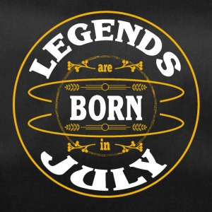 Birthday July legends born gift birth - Duffel Bag