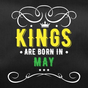 Kings are born in May - Sporttasche