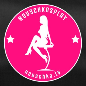 Nouschkasplay Badge pink_white 2017 - Sporttasche