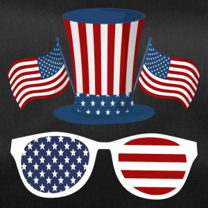 US Hat American Flag Sunglasses - Sac de sport