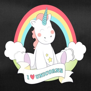 I Love Unicorn - American Unicorn - Duffel Bag