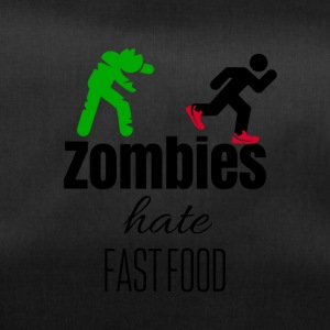 Zombies hate when their food run - Sporttasche