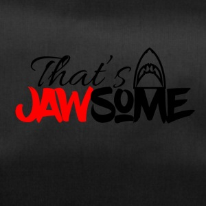 This is awesome I mean Jawsome - Sporttasche