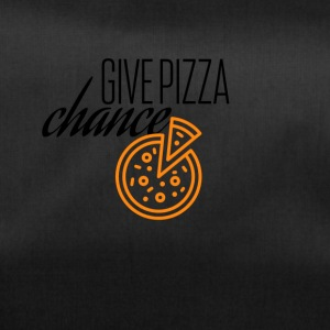 Give this pizza a chance - Sporttasche