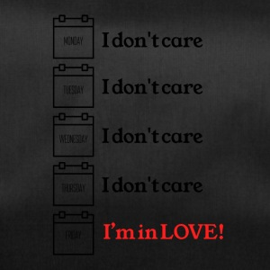 I do not care - Duffel Bag