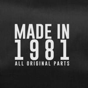 MADE IN 1981 - BIRTH YEAR - Duffel Bag