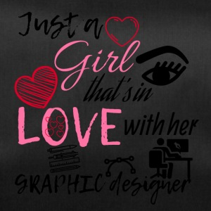 A girl that's in love with her graphic designer - Sporttasche
