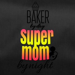 Baker dag super mamma by night - Sportväska