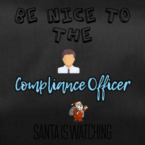Be nice to the compliance officer - Duffel Bag