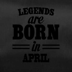 Legends zijn geboren in april - Sporttas
