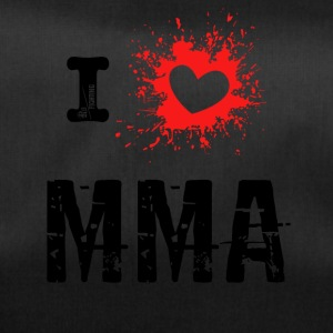 I Love MMA - Mixed Martial Arts, BJJ, Grappling r - Duffel Bag