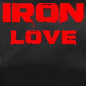 iron love red - Sporttasche
