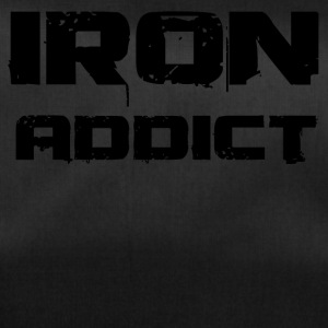 iron addict black - Sporttasche
