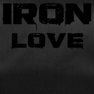 iron love black - Sporttasche