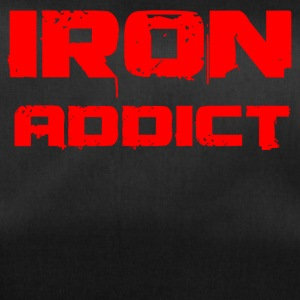 iron addict red - Sporttasche