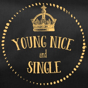 Young Nice and SINGLE - Sporttasche