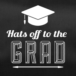 High School / Graduation: Hats off to the degree - Duffel Bag