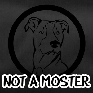 Hund / Pitpull: Not A Monster - Sporttasche