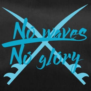 Surfer / Surfing: No Waves. No Glory. - Duffel Bag