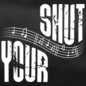 Shut your music - Sporttasche