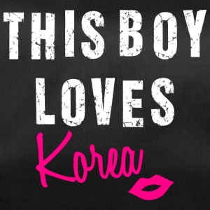 Korea love This boy loves Korea K-Pop - Sporttasche