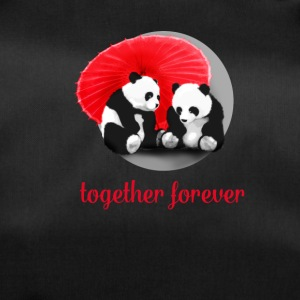 panda love forever Love dab LOL fun cool cute gir - Duffel Bag